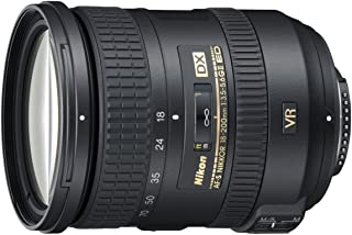 Nikon AF-S DX Nikkor 18-200mm f/3.5-5.6G ED VR II Telephoto Zoom Lens for Nikon DSLR Camera