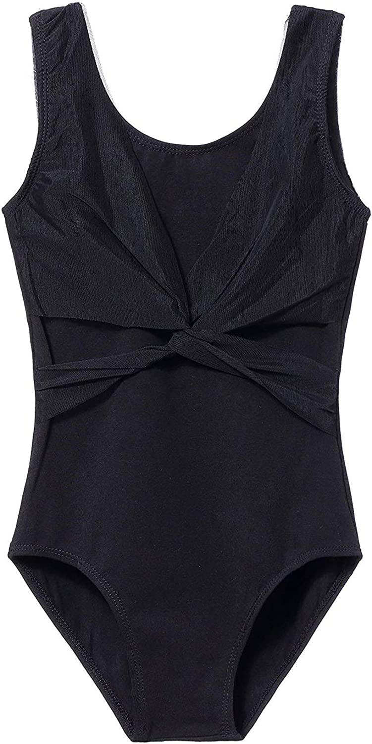 MdnMd Sleeveless Tank Leotard Japan Maker New for Limited price Cross with Girls Front Mesh