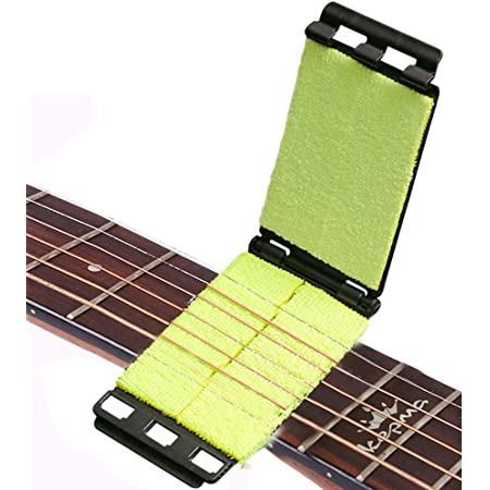 Guitar Fingerboard String Cleaner Maintaining Tool for Electric Guitar Dilwe Guitar String Scrubber