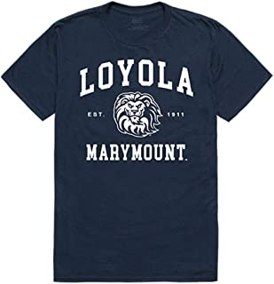 Loyola Marymount University Lions NCAA Seal Tee T-Shirt Navy