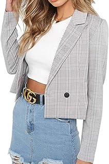 4467420e1e Amazon.it: e+m - juqilu / Giacche da abito e blazer / Tailleur e ...