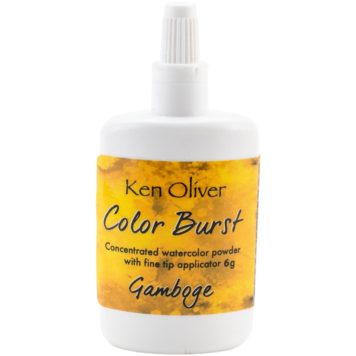 Ken Oliver KN07038 Color Burst Powder 6gm-Gamboge