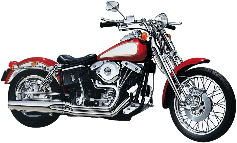 Aoshima Models 1 12 Springer Motorcycle (VTwin Engine) (japan import)