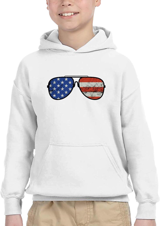 Biden Aviator Inventory cleanup selling sale Sunglasses Patriotic USA Hoodi Children's Excellent Flag Boy
