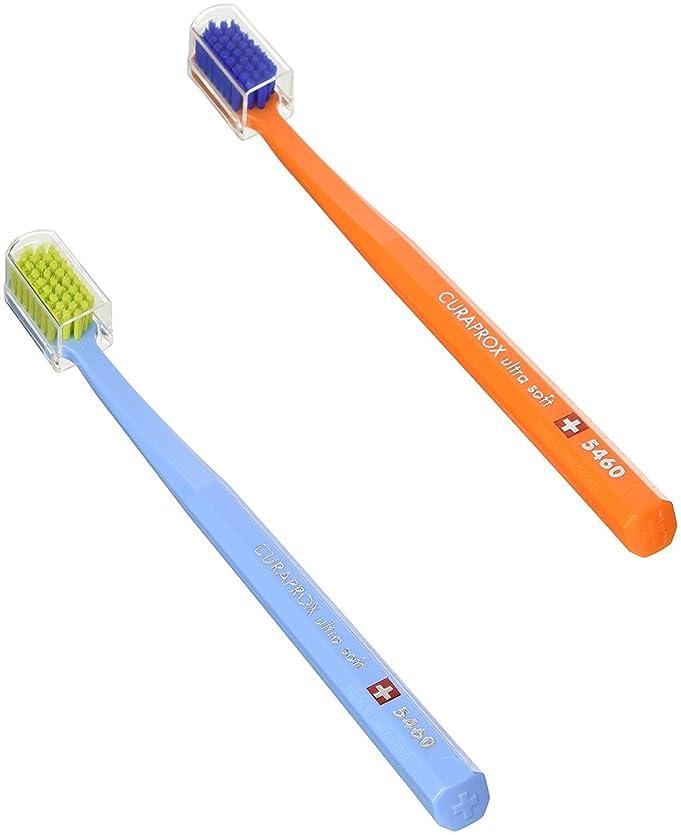 責ニックネーム価値キュラプロックス 5460ウルトラソフト歯ブラシ 2本