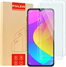 [2-Pack] PULEN for Xiaomi Mi 9/Xiaomi Mi 9 lite Screen Protector Tempered Glass,HD Clear [Scratch Resistant][Bubble Free][Anti-fingerprints] 9H Hardness Tempered Glass for Xiaomi Mi 9/Xiaomi Mi 9 lite