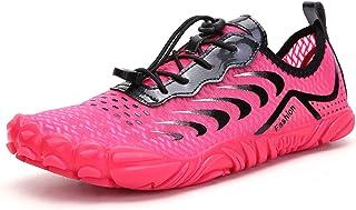 الرجال امرأة أكوا أحذية زوجين حذاء المياه تريل الجري المشي عدم الانزلاق berafoot wid خمسة أصابع الأحذية لشاطئ الإبحار النع...
