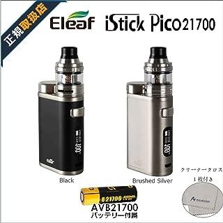 【正規品】Eleaf iStick Pico 21700 Kit 電子タバコ スターターキット AVB21700バッテリ―同梱 ELLO 25mmアトマイザー 急速充電対応 リキッド式