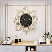 Wall Clock - Metal/Glass/Personality/Home/Clock, Fashion Wall Clock Living Room Bedroom Creative Mute Clock Wall Clock Tre...