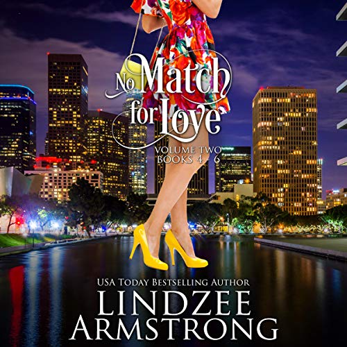 No Match for Love, Box Set - Volume Two: Strike a Match, Meet Your Match, Mistletoe Match audiobook cover art
