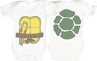Baby Buddha Ninja Turtle Baby Strampler - Baby Body - Baby Body Geschenkset