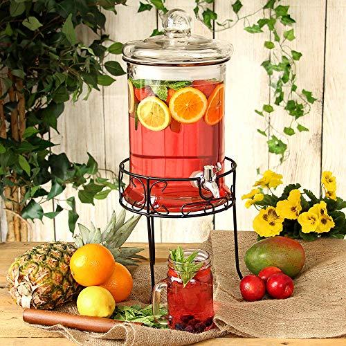 Dispensador de bebidas Ronda con el soporte 168 oz / 4.8ltr | dispensador de la bebida, jugo dispensador, Punch dispensador, Lemonade dispensador