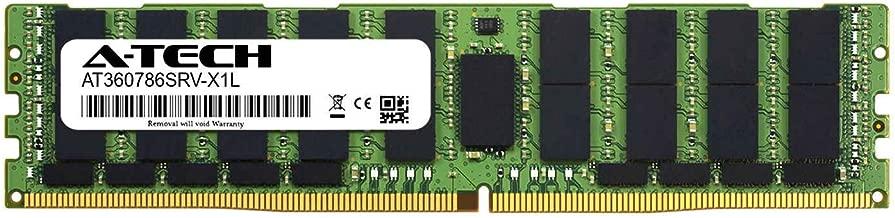 A-Tech 64GB Module for Intel Xeon Gold 6134M - DDR4 PC4-21300 2666Mhz ECC Load Reduced LRDIMM 4rx4 - Server Memory Ram (AT360786SRV-X1L6)