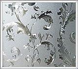 FANPING Estática del Vidrio Esmerilado de la película, la película estática de Vidrio de Cristal Cling Película no Pegamento Anti-UV Etiqueta de la Ventana for el baño Habitación Sala