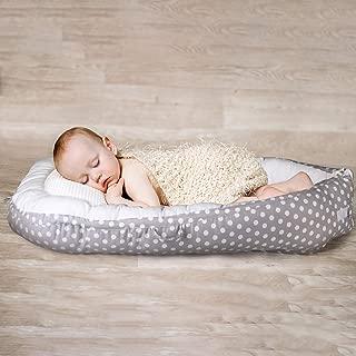 Cama Nido de beb/é port/átil Multifuncional 100/% algod/ón org/ánico Tumbona reci/én Nacida Suave y Transpirable para Viajar FOONEE Tumbona de beb/é reci/én Nacido para Dormir Juntos