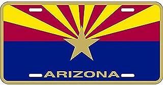 Signs 4 Fun Slmza AZ-Flag, License Plate