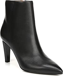 leather boots stiletto heel