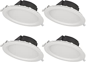 Bulb Included Bazz 410L11W 410 Recessed LED Lighting Kit Exterior White Dimmable 5-in Energy Efficient Interior