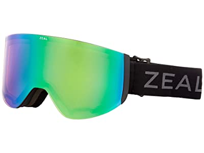 Zeal Optics Hatchet (Dark Night w/ Jade Mirror + Persimmon Sky Blue Lens) Snow Goggles