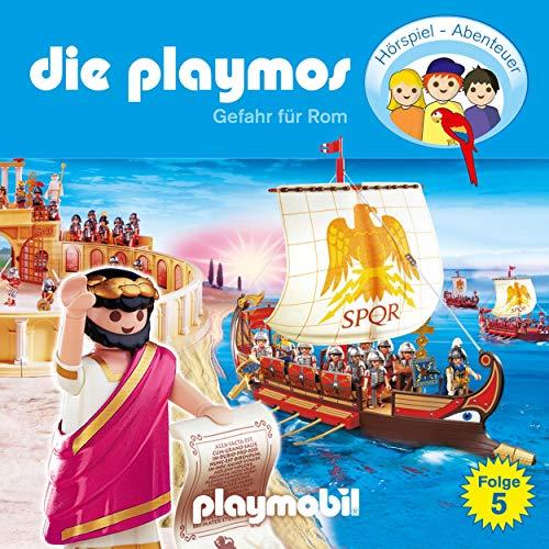 Gefahr für Rom. Das Original Playmobil Hörspiel Titelbild