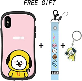 BTS Phone Cases Ultra Defender TPU Premium Protective for iPhone,Bangtan Boys Gift Set for Army (Jimin, iPhone XR)