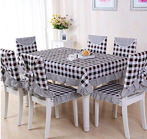 nappes pastorales de dentelle, tissu de table, linge de table, chaise linge de table coussin, couverture de chaise,150*150CM