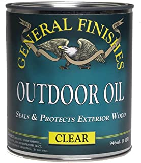 General Finishes Outdoor Oil, 1 Gallon