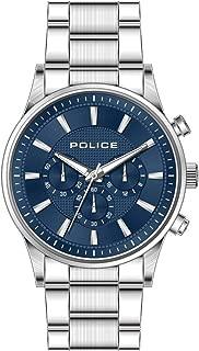 Bevilles Police Kastrup Watch Model PL15589JS/03M Stainless Steel 3 Hands Multi Dial Multifunction 4895220901345 Silver