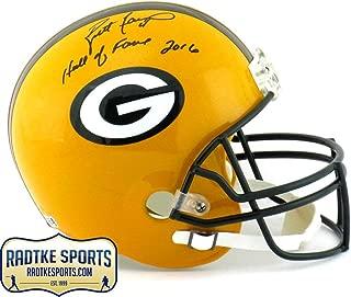 Autographed Brett Favre Helmet - Riddell Full Size
