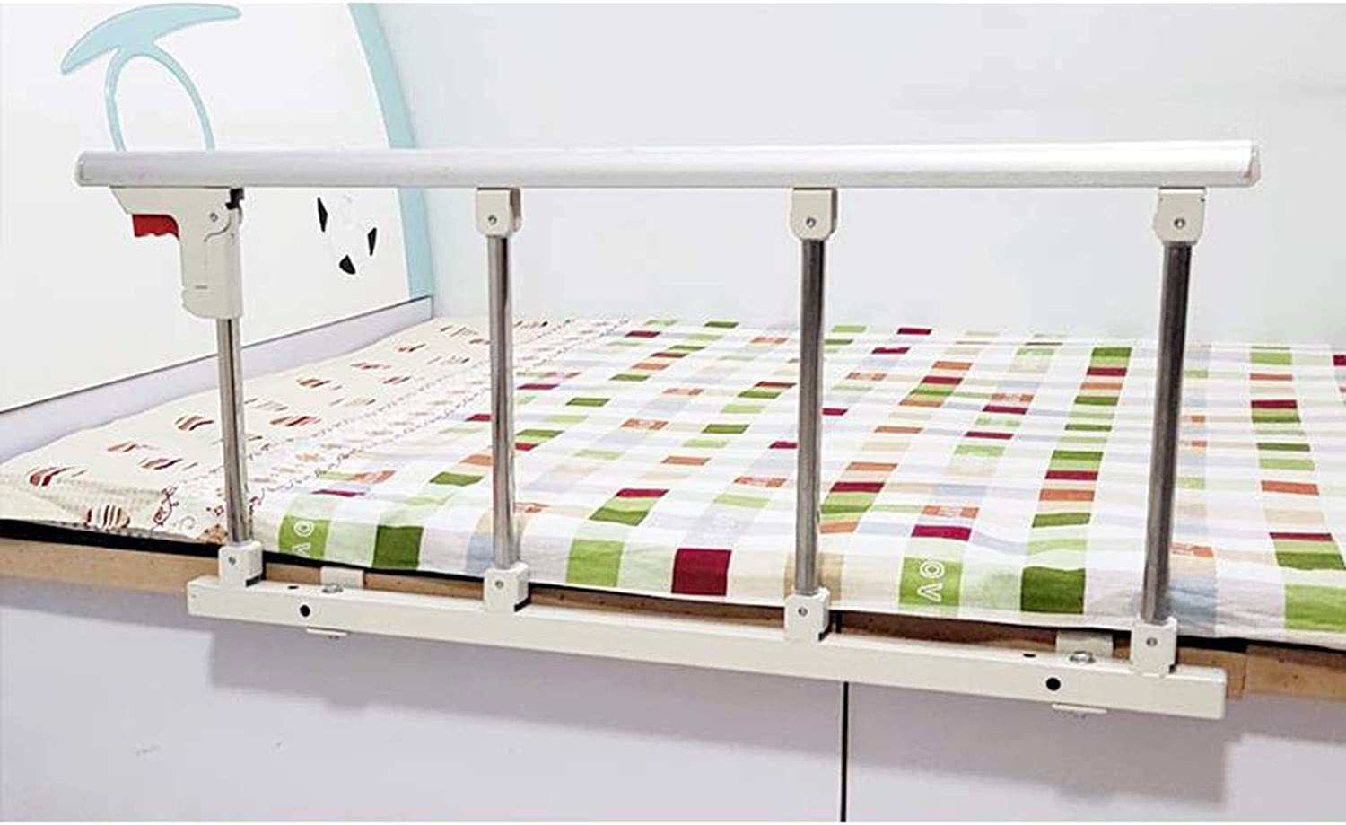 Raleigh Mall BETTKEN Hospital Folding Bed Rail Quantity limited Assist Side Handl Safety Guard