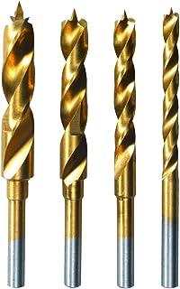 Dremel 636 träborrar ersättning – tillbehörssats för multifunktionsverktyg med 4 träborrar 3,4,5 och 6 mm för borrning i m...