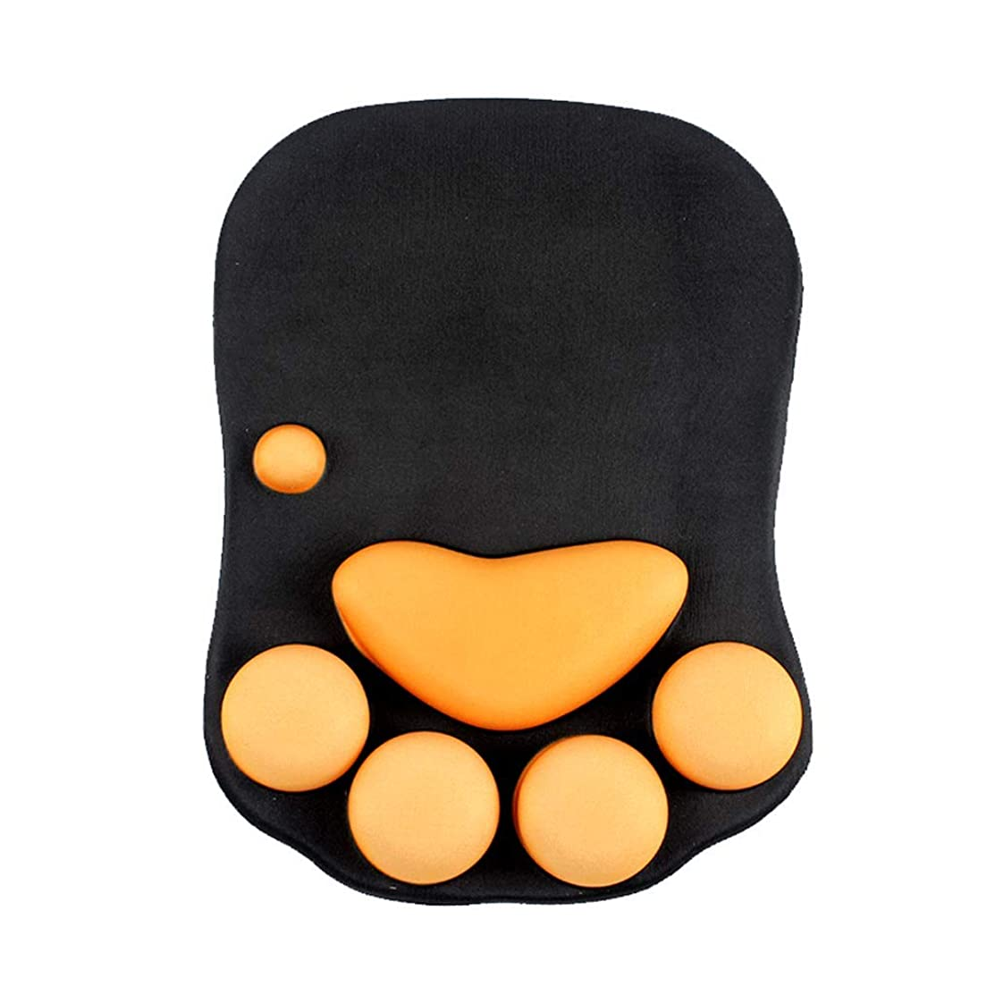 Wrist Guard Mouse Pad-Office Game Notebook Computer Thickening Keyboard Pad, Memory Cotton Care Hands