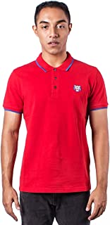 Kenzo Men's Red Tiger Head Polo Shirt
