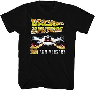 2Bhip Back To The Future 80s Syfy 30th Aniversario Comedia Spielberg película Adulto Camiseta