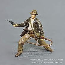 No 1 Piezas 7,5 cm Dibujos Animados Anime Indiana Jones Figuras de acción muñecas niños PVC Modelo Educativo para colección Juguete d11-B Estilos 7.5cm