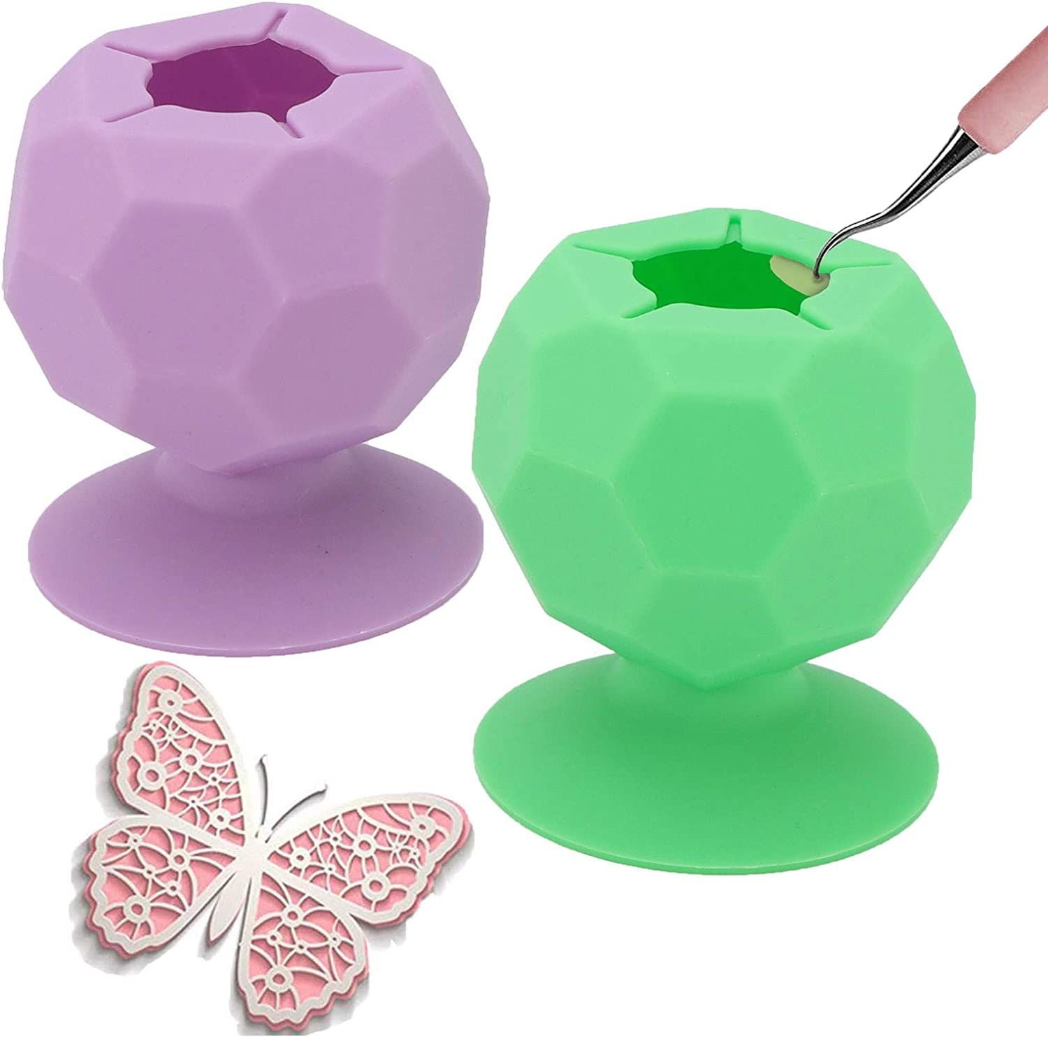 julycofe 2 Pack Suctioned Vinyl Limited price Weeding Collector Max 41% OFF Scrap Silicon