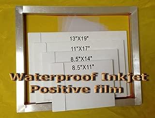 inkjet silk screen