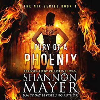 Fury of a Phoenix: The Nix Series, Book 1 Titelbild