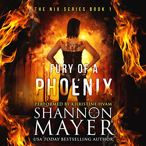 Fury of a Phoenix: The Nix Series, Book 1 audiobook cover art