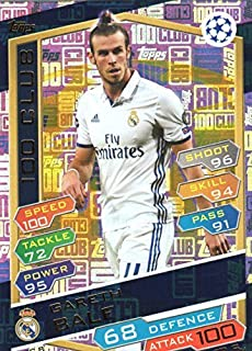 Match Attax Liga de Campeones 2016//17 cientos 100 Club Luka Modric Real Madrid