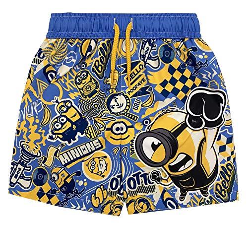 Universal Studio Minions Toddler Boys Swim Bathing Suit Blue/Yellow 2T