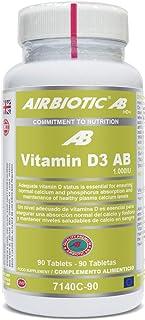 Airbiotic Vitamin D3 Ab 1000Iu 90 Comprimidos - 1 unidad