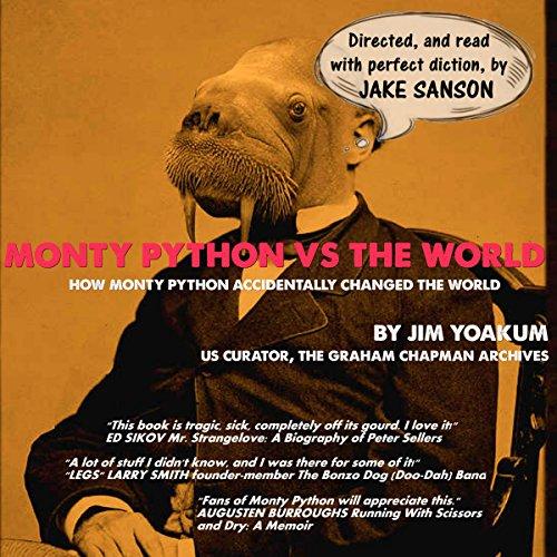 Monty Python vs the World audiobook cover art