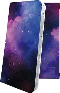 AQUOS Compact SH-02H ケース 手帳型 雲 オーロラ 天の川 星 星柄 星空 宇宙 夜空 星型 アクオス コンパクト 手帳型ケース おしゃれ SH02H AQUOSCompact かっこいい