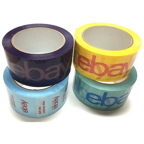 4/rollos oficial Ebay de Bopp cinta de embalaje env/ío suministros Multicolor