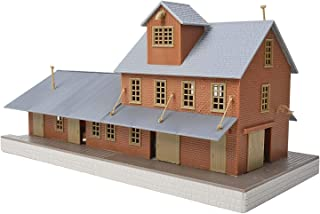 Walthers Trainline HO Scale Model Brick Freight House Kit