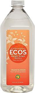 ECOS Hypoallergenic Orange Blossom Hand Soap Refill, Orange Blossom, 946 milliliters