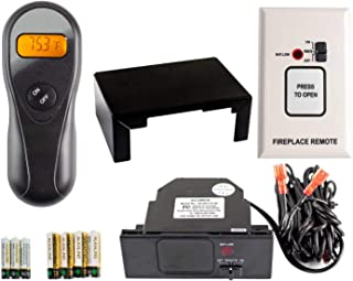Acumen On/Off Fireplace Remote Control Without Heat Shield (RCK-is)