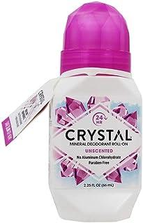 Crystal Body Deodorant Roll-On-2.25 oz, 2 pack