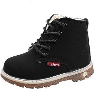 manadlian Chaussures Bébé Hiver Bébé Filles Shose Garçons Armée Enfant Style Loisir Boot Pas Cher Chaussures Chaudes Chaus...